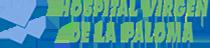 Logo hospital virgen de la paloma